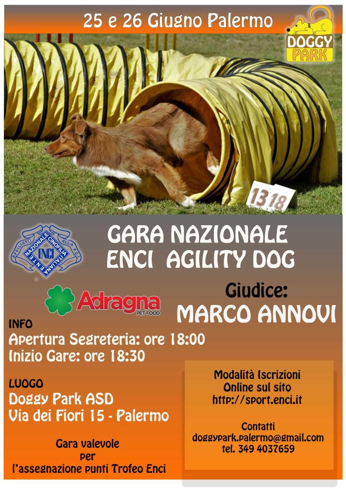 25 Giugno - Gara Agility Dog Doggy Park
