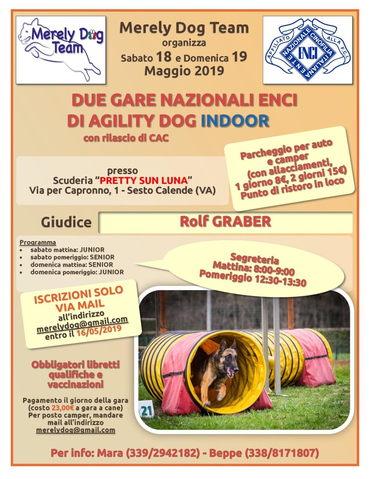 18 Maggio Merely Dog Team