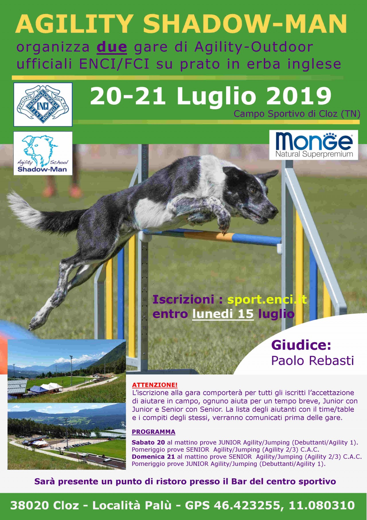 Campo Sportivo di Cloz (TN) Domenica 21 Luglio 2019