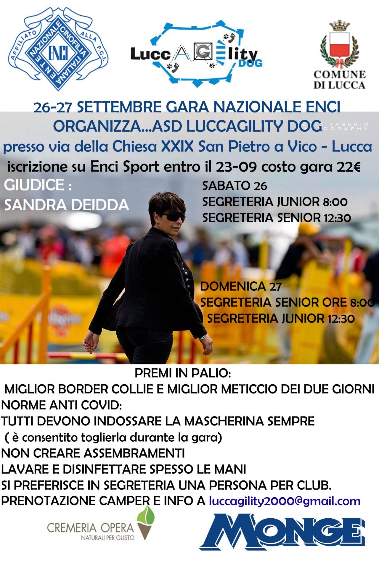 Enci Luccagility premi speciali