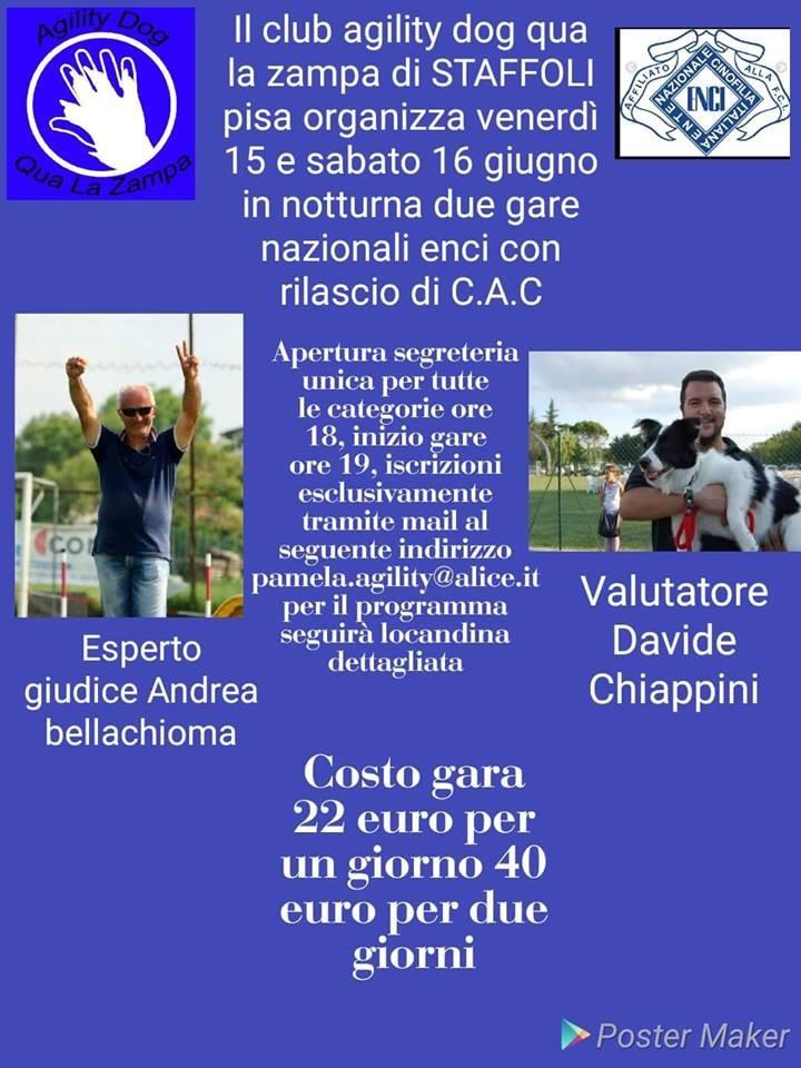 Gara Nazionale QUa La Zampa  - 15 giugno
