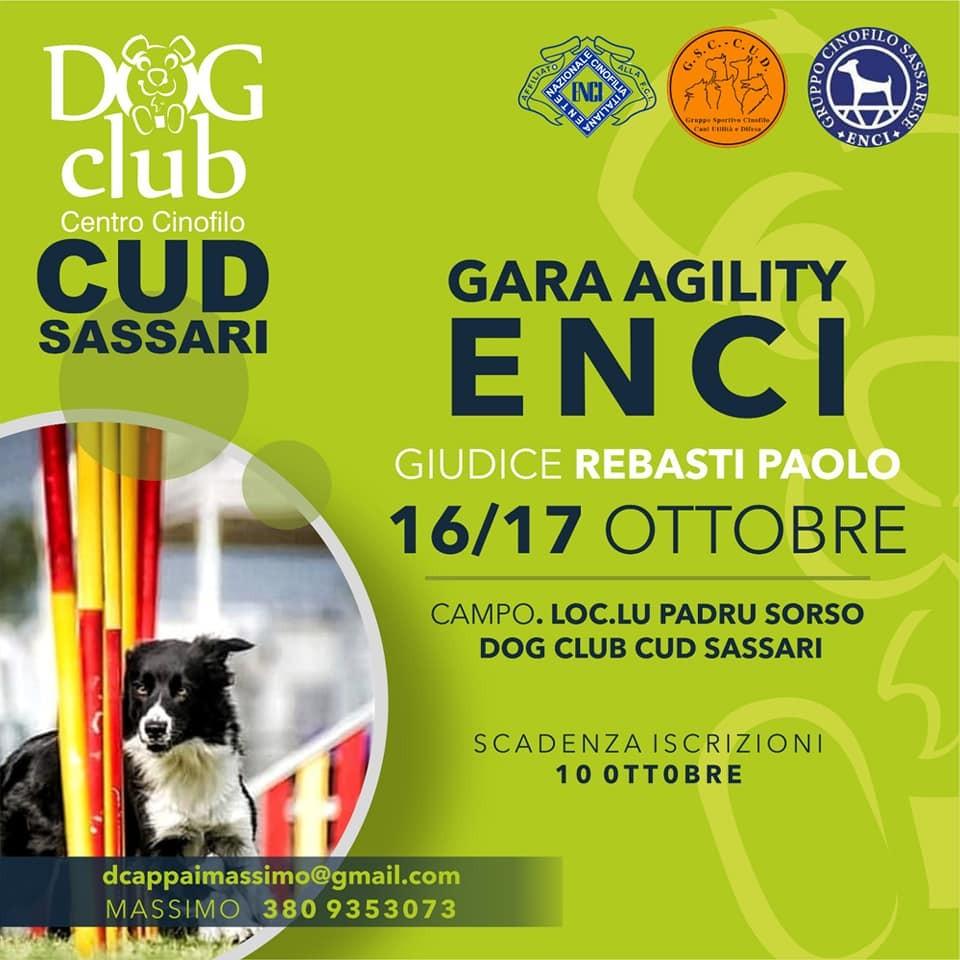 Due giornate di agility dog al cud Sassari DOGCLUB