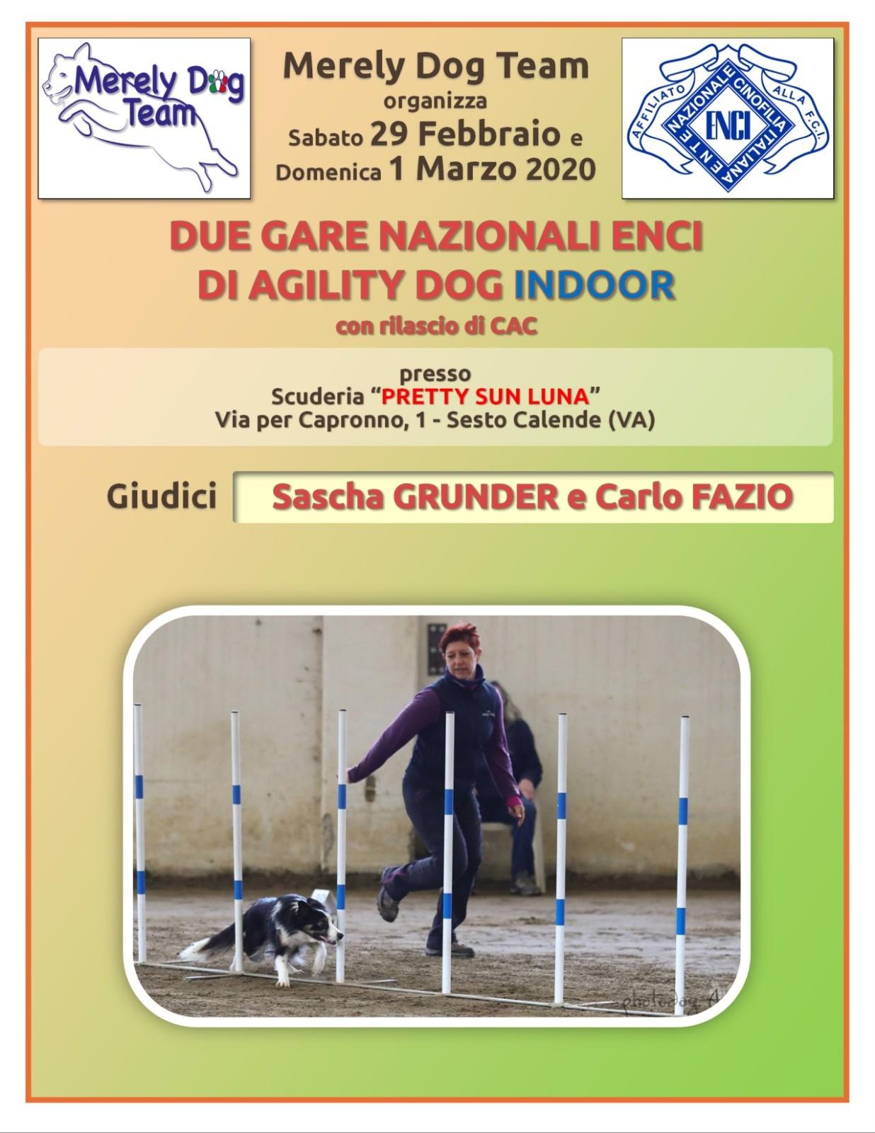 Merely Dog Team 29 Febbraio 2020