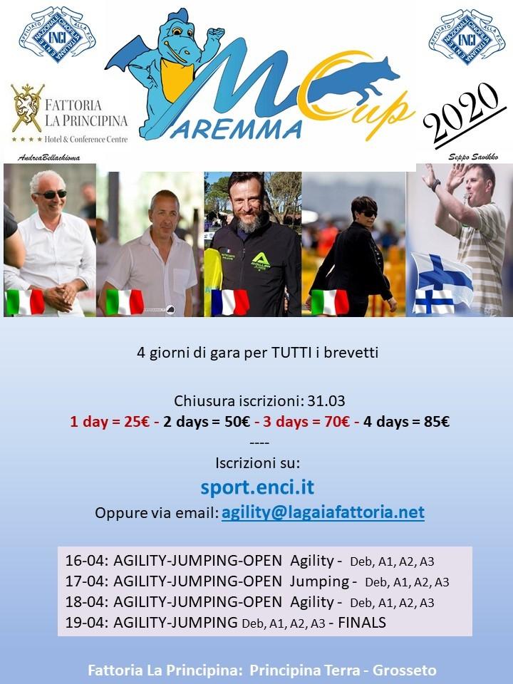 Maremma Cup 2020 - Day1