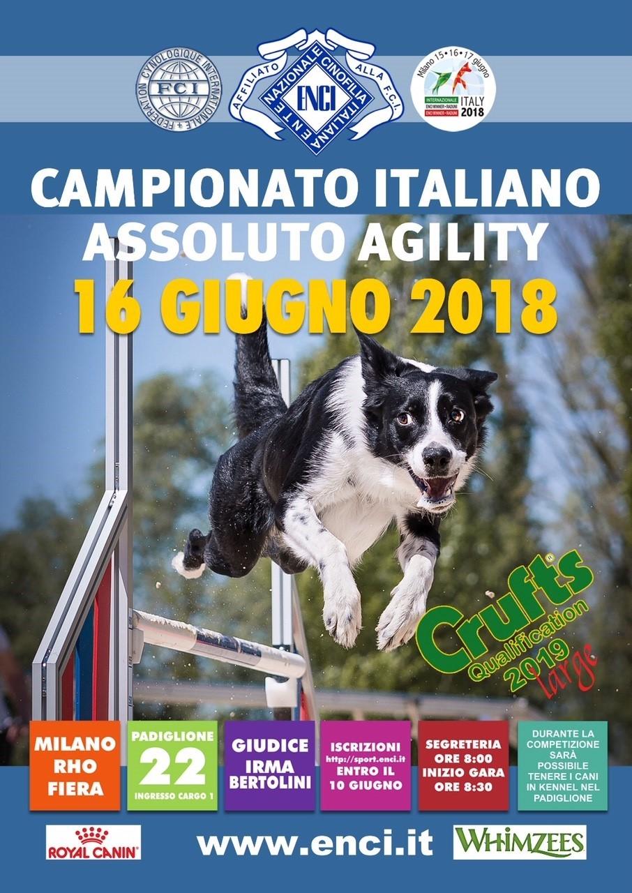 CAMPIONATO ITALIANO ASSOLUTO DI AGILITY