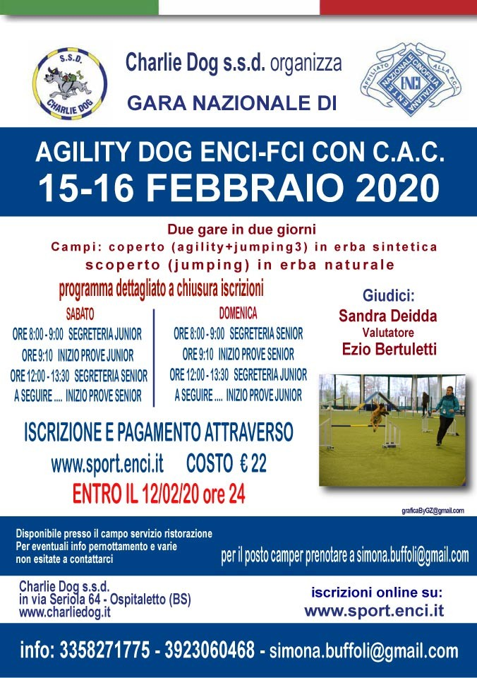 GARA NAZIONALE DI AGILITY CHARLIE DOG