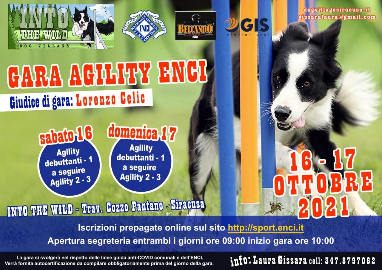 Gara Agility Dog Siracusa 16.10.2021