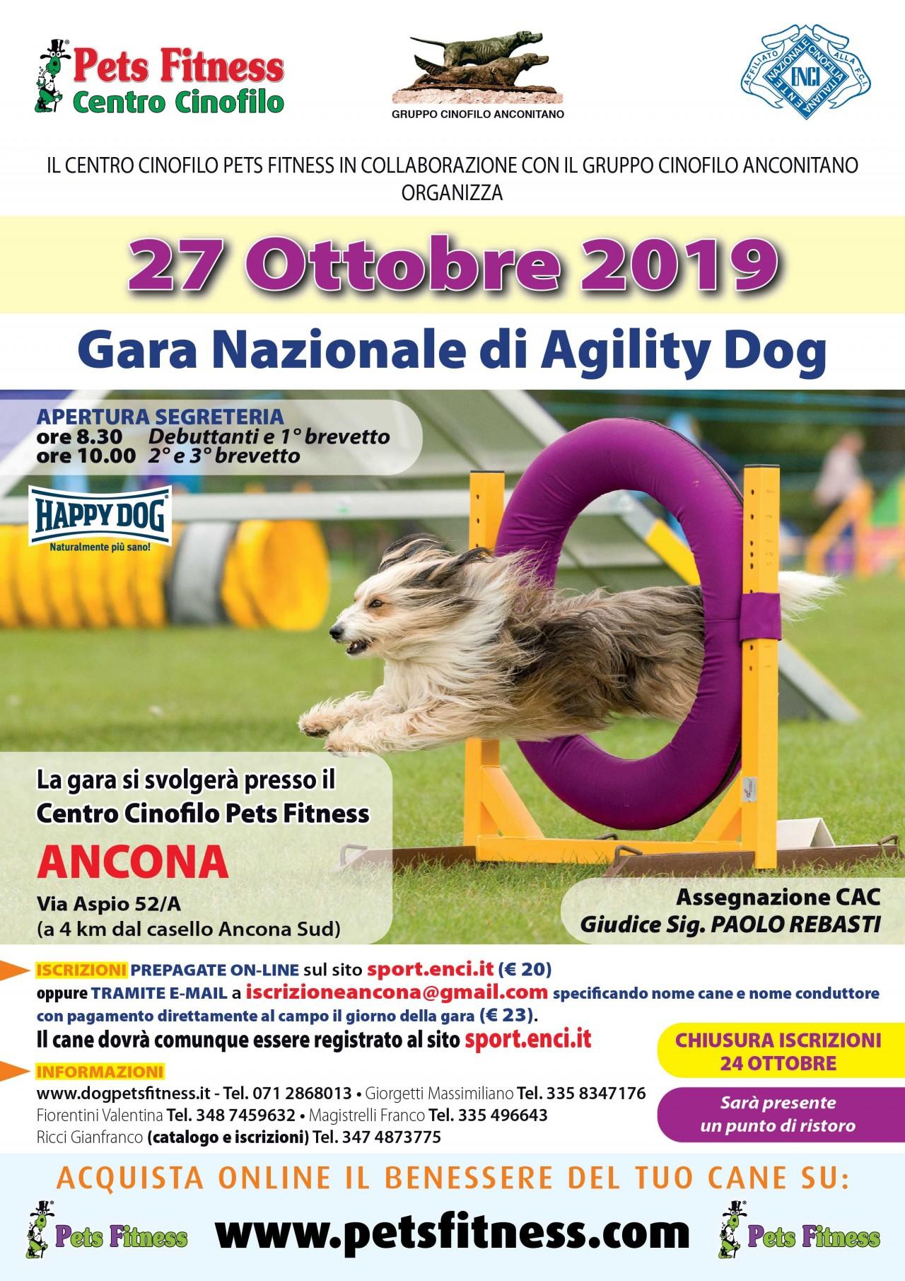 Gara di Agility 13 ottobre 2019
