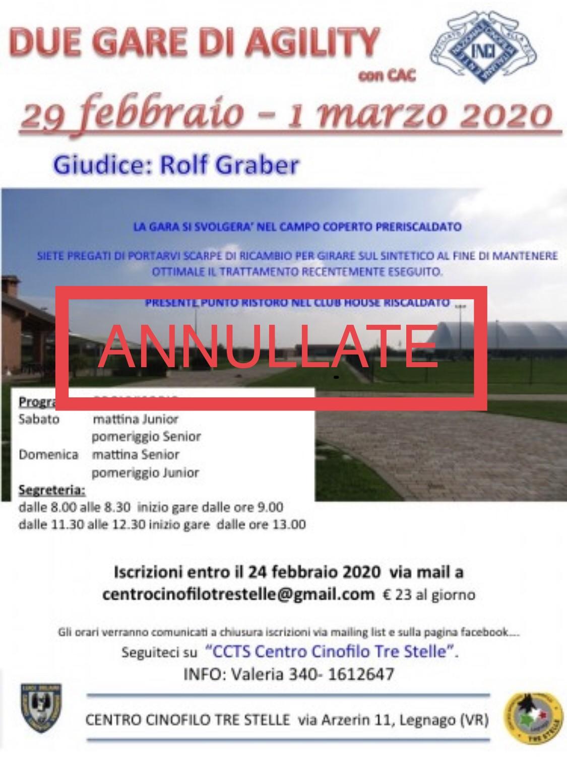 CCTS Legnago, 29 febbraio 2020