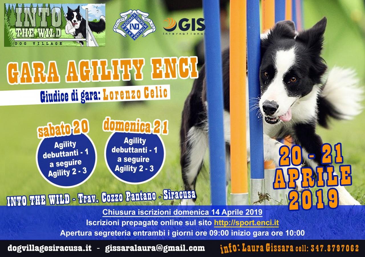 Gara Agility Siracusa 20/04/19